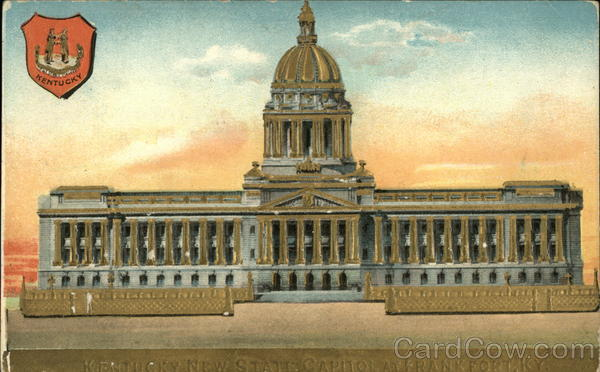 New State Capitol Frankfort Kentucky