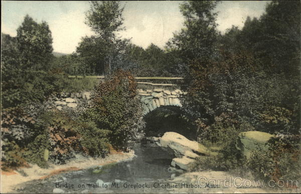 Bridge on Trail to Mt. Greylock Cheshire Harbor Massachusetts