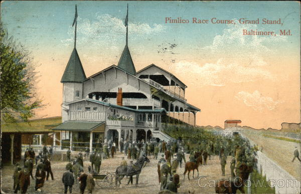 Pimlico Race Course, Grand Stand Baltimore Maryland