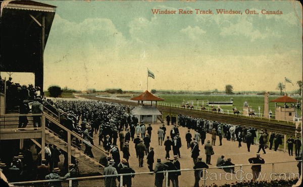 Windsor Race Track Canada Ontario