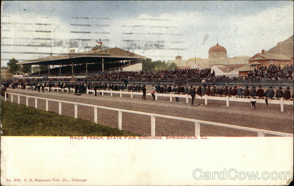 Race Track, State Fair Grounds Springfield Illinois
