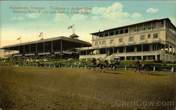 Oriental Race Track and Jockey Club Building Havana Cuba