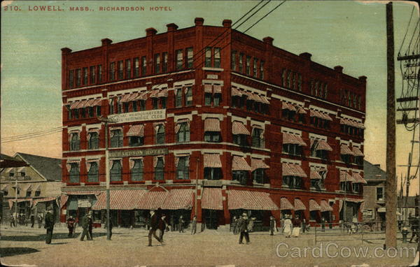 Richardson Hotel Lowell Massachusetts