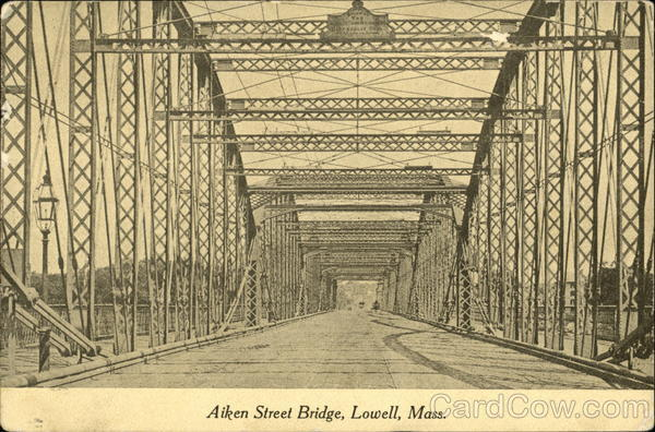 Aiken Street Bridge Lowell Massachusetts