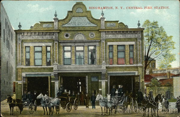 Central Fire Station Binghamton New York