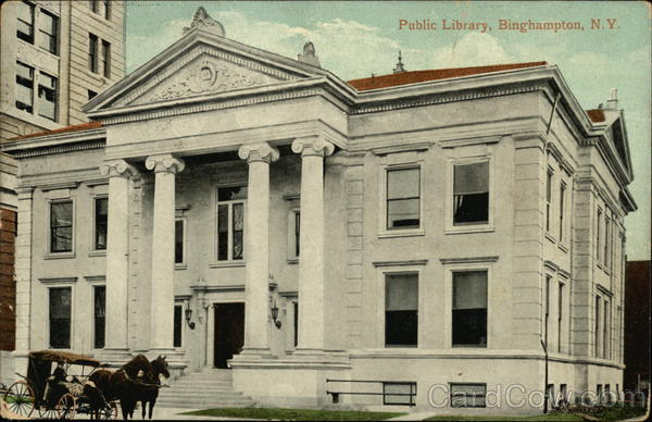 Public Library Binghamton New York