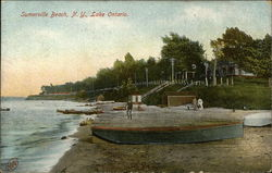 Beach on Lake Ontario