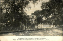 The Adams Mansion
