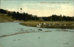 Bible Hill and Salmon River Postcard