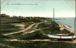 View of Hyannisport, Mass., from Squaw Island