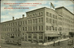 Building Of The Pantagraph Printing & Stationery Co