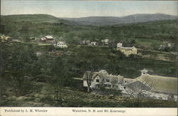View of Waterloo and Mt. Kearsarge