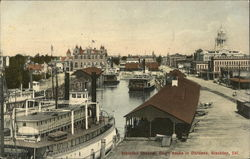 Stockton Channel, Court House in Distance