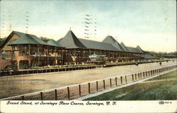 Grand Stand, at Saratoga Race Course