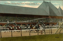 The Start, Saratoga Race Track