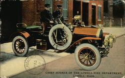 Chief Hosmer of the Lowell Fire Department