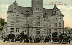 Lowell Fire Department, Automobile Division