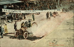 The Start of Lowell Auto Race Course