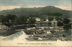 Shelburne Falls, Looking Toward Buckland, Mass
