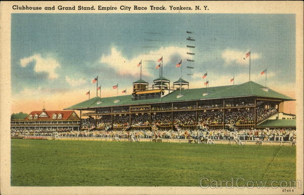 Clubhouse and Grand Stand, Empire City Race Track Yonkers New York