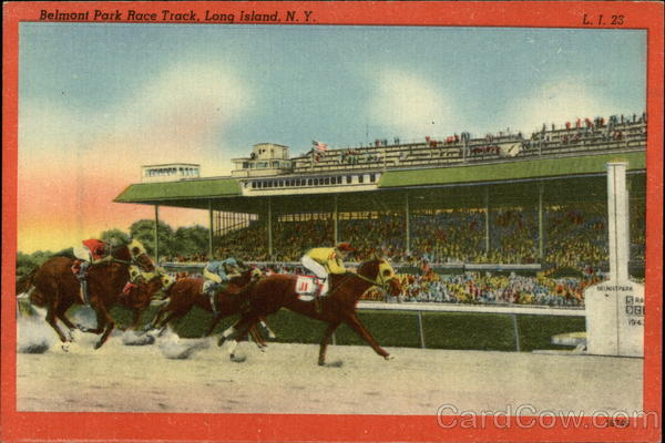 Belmont Park Race Track Long Island New York Horse Racing