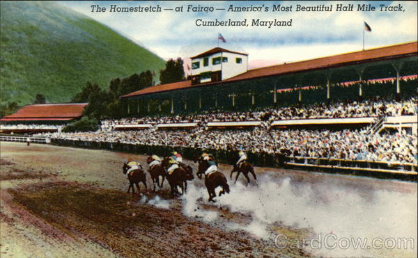 The Homestretch - at Fairgo Cumberland Maryland Horse Racing