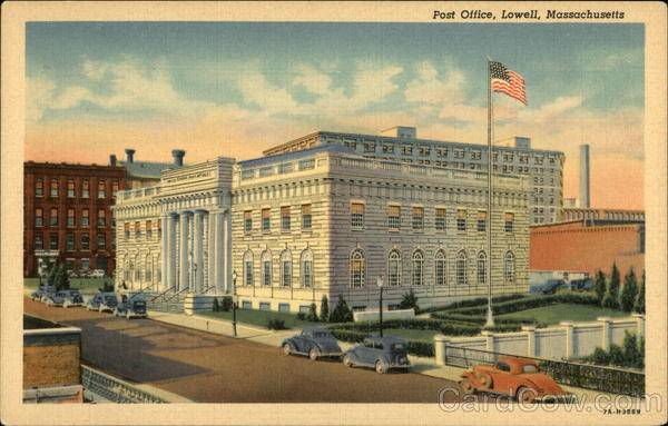 Post Office, Lowell, Massachusetts