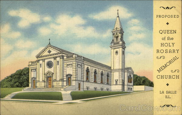 Proposed Queen of the Holy Rosary Memorial Church La Salle Illinois