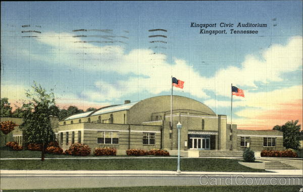 Kingsport Civic Auditorium Tennessee