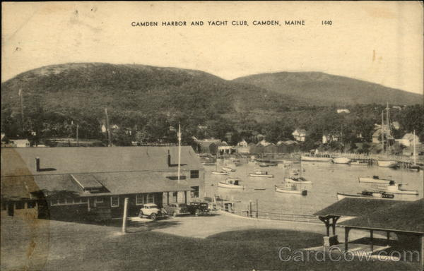 Camden Harbor and Yacht Club Maine