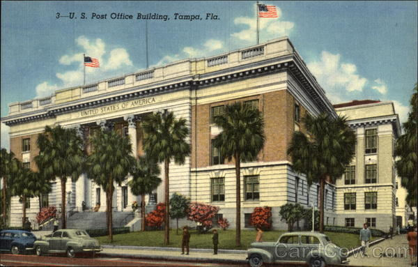 U.S. Post Office Building Tampa Florida