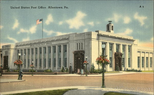 United states post office allentown pa - United states post office ...