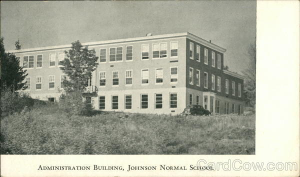 Administration Building, Johnson Normal School Vermont