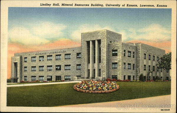 Lindley Hall, Mineral Resources Building, University of Kansas Lawrence