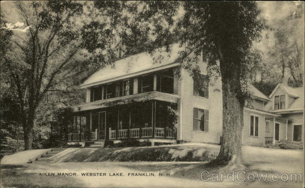Aiken Manor, Webster Lake Franklin New Hampshire