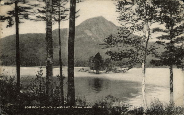 Borestone Mountain and Lake Onawa Guilford Maine