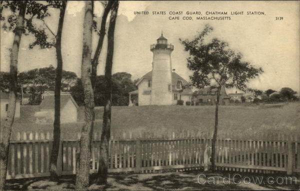 United States Coast Guard, Chatham Light Station Cape Cod Massachusetts