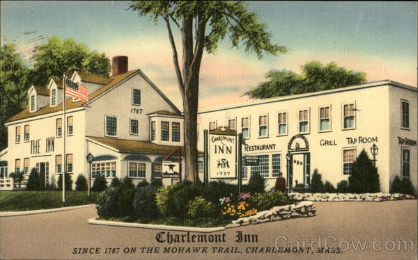 Charlemont Inn 1787 Massachusetts