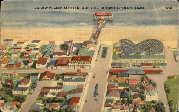 Amusement Center and Pier Old Orchard Beach Maine