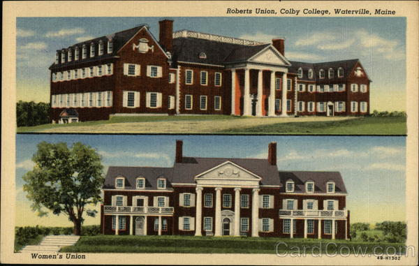 Roberts Union and Women's Union, Colby College Waterville Maine
