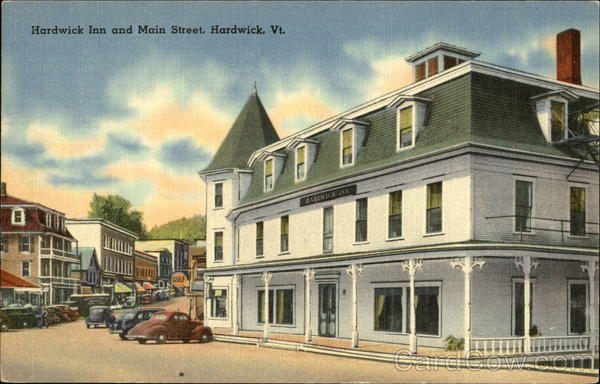 Hardwick Inn and Main Street Vermont