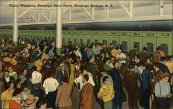 Saratoga Race Track - Ticket Windows