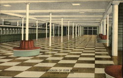 Garden State Park - Interior of Club House