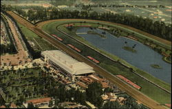 Aerial View of Hialeah Race Course