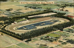 Aerial View of Hialeah Park