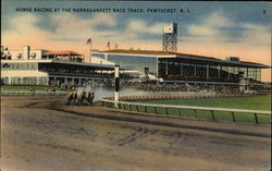 Horse Racing at the Narragansett Race Track