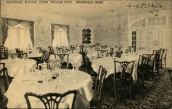 Weldon Hotel - Colonial Dining Room
