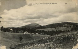 Burke Mountain from Lyndonville