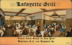 "Lafayette Grill ""Finest Food South of New York"""