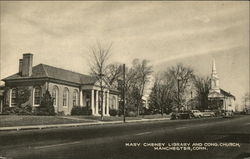 Mary Cheney Library and Congregational Church